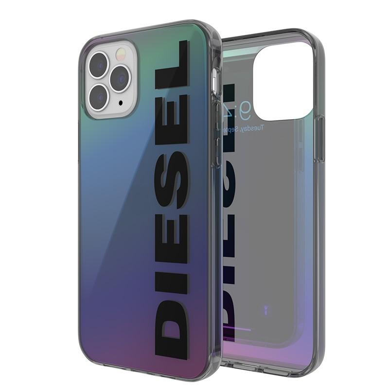 Diesel Snap Case Clear iPhone 12 en iPhone 12 Pro 5.4 Holo Logo 07