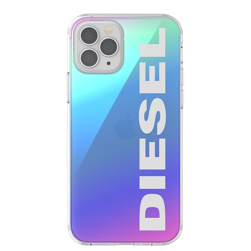 Diesel Snap Case Clear iPhone 12 Pro Max Holo Logo 07