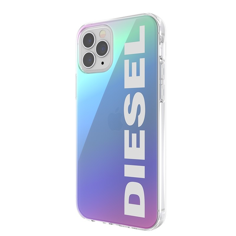 Diesel Snap Case Clear iPhone 12 Pro Max Holo Logo 02