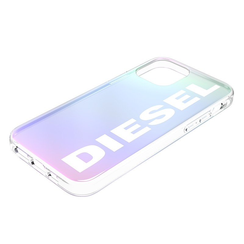 Diesel Snap Case Clear iPhone 12 Pro Max Holo Logo 05