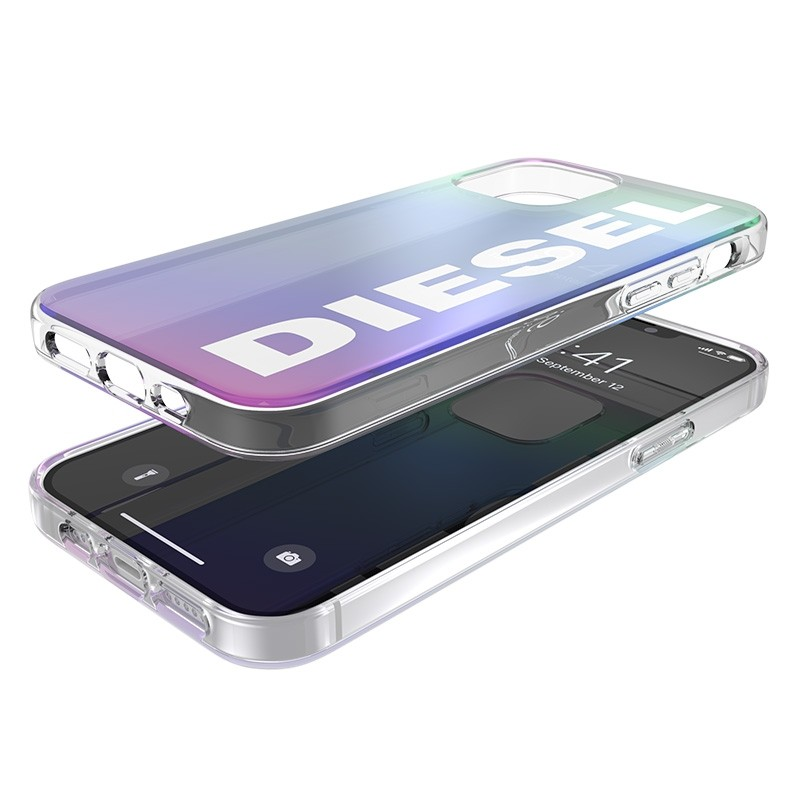 Diesel Snap Case Clear iPhone 12 Pro Max Holo Logo 06