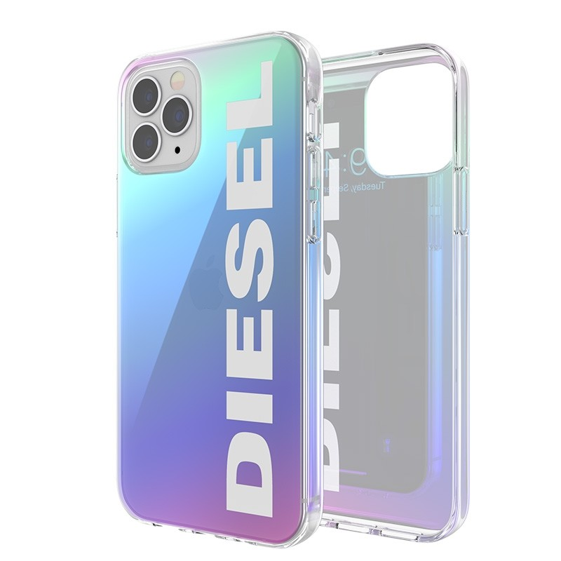 Diesel Snap Case Clear iPhone 12 Pro Max Holo Logo 03