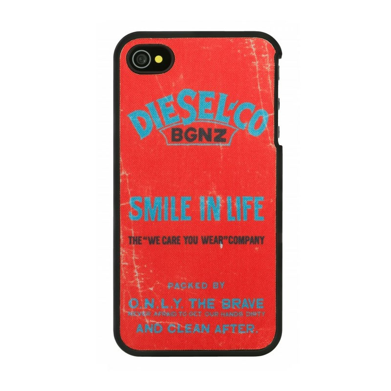 Diesel Snap Case iPhone 4(S) Smile In Life - 1