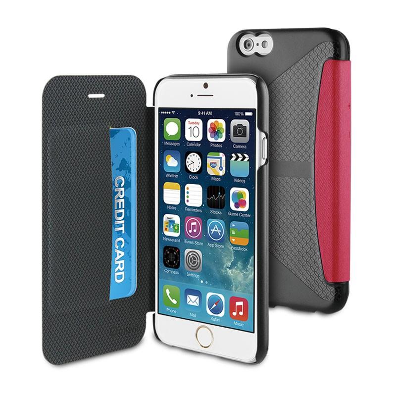 Muvit Easy Folio iPhone 6 Plus Denim Pink - 1