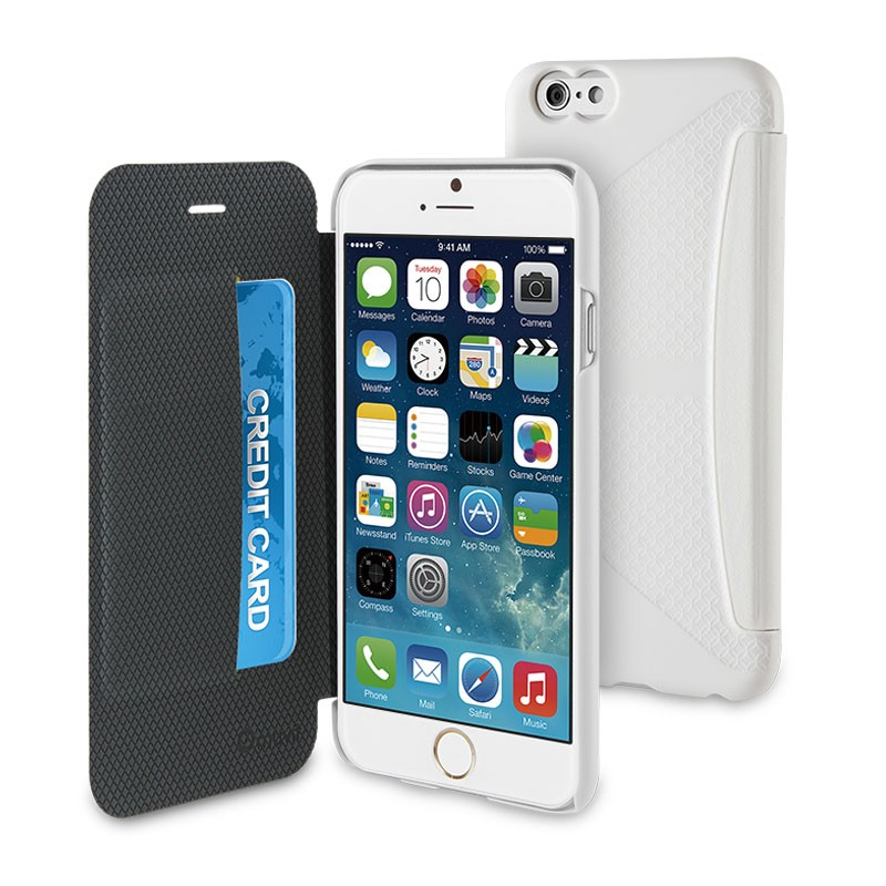 Muvit Easy Folio iPhone 6 Plus White - 1