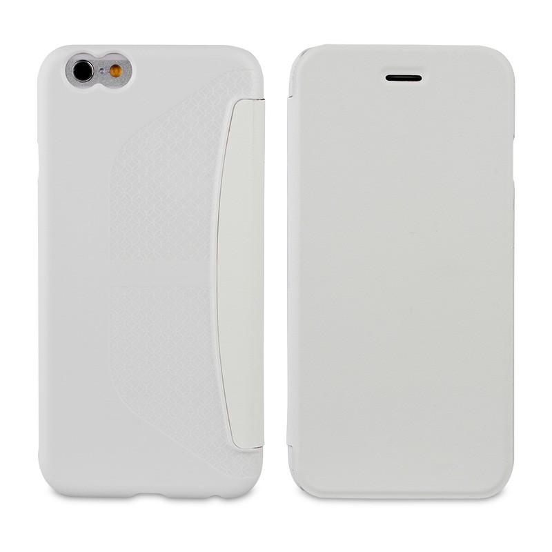 Muvit Easy Folio iPhone 6 Plus White - 2