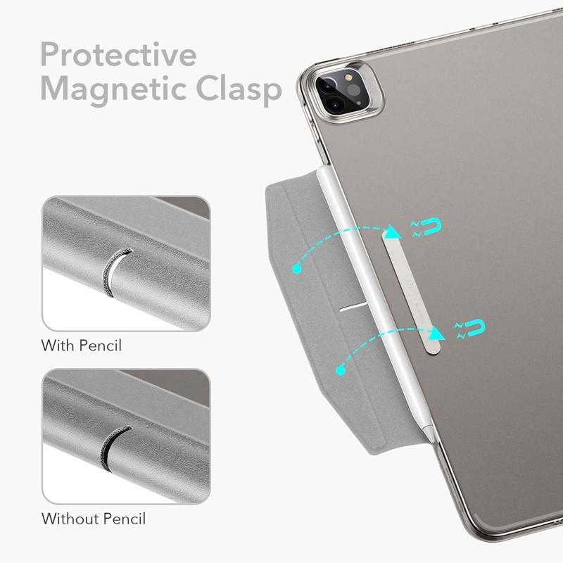 ESR Ascent Trifold Case iPad Pro 12.9 inch (2021) Zilver - 5