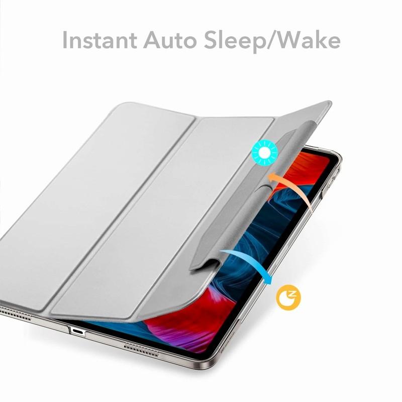 ESR Ascent Trifold Case iPad Pro 12.9 inch (2021) Zilver - 3