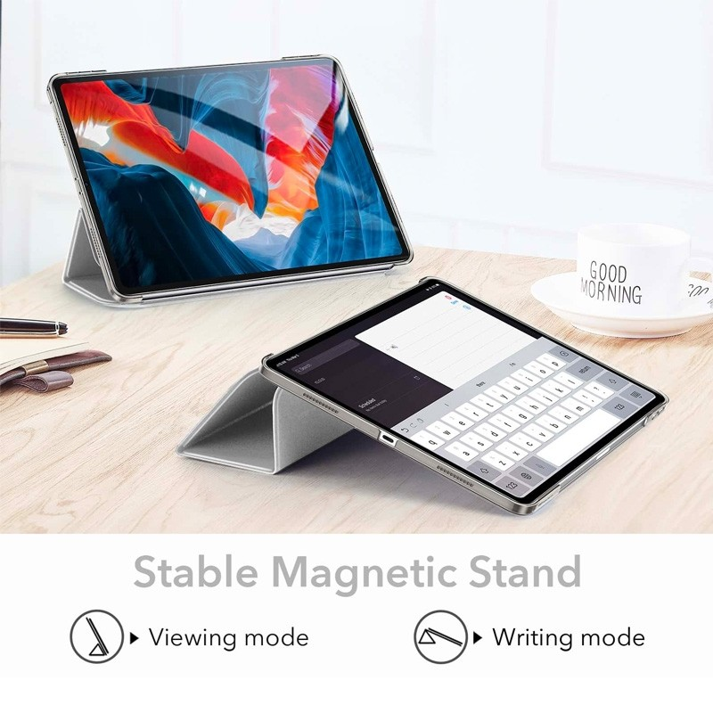 ESR Ascent Trifold Case iPad Pro 12.9 inch (2021) Zilver - 4