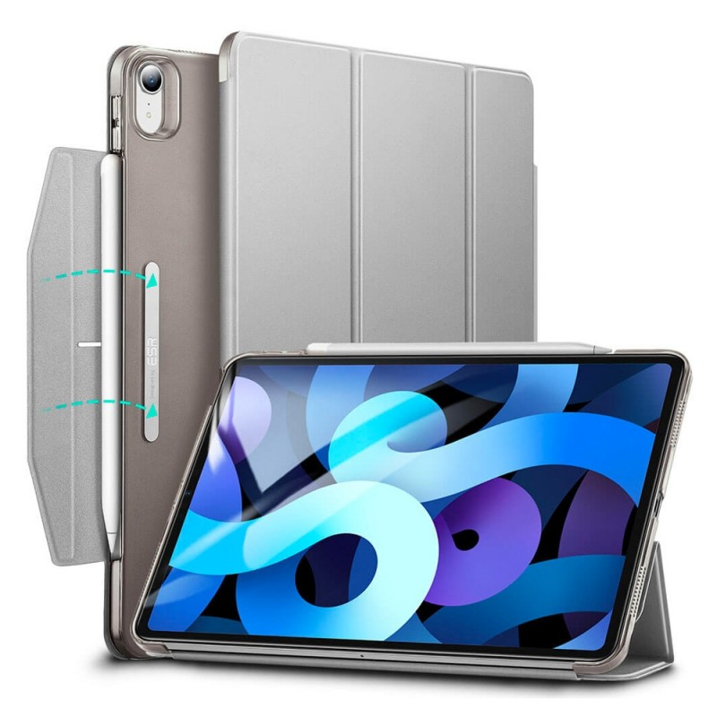 ESR Ascend Trifold Case iPad Air 4 (2020) Zilver - 1