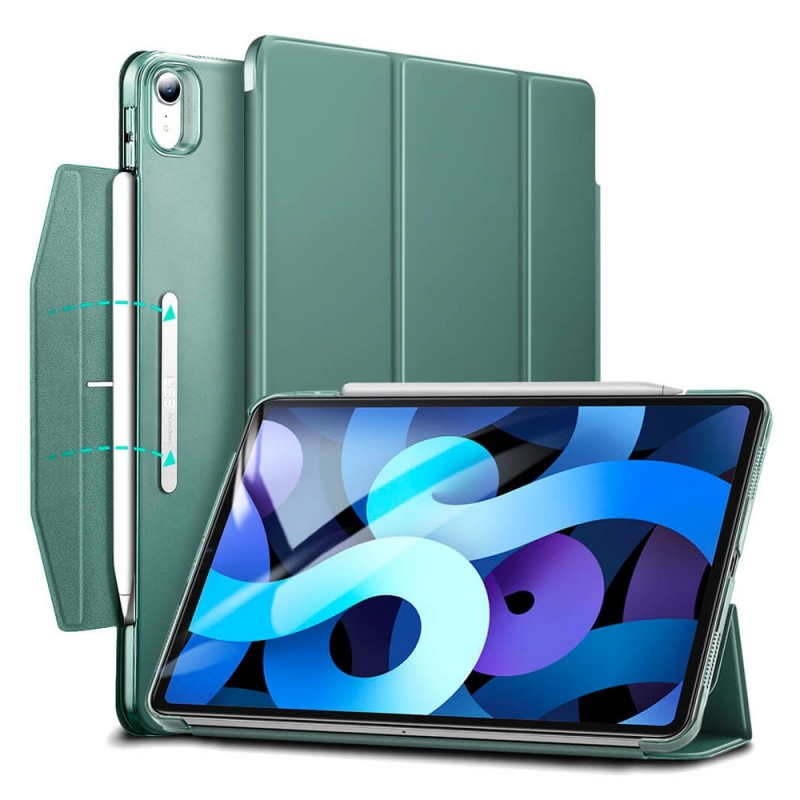 ESR Ascend Trifold Case iPad Air 4 (2020) Groen - 1
