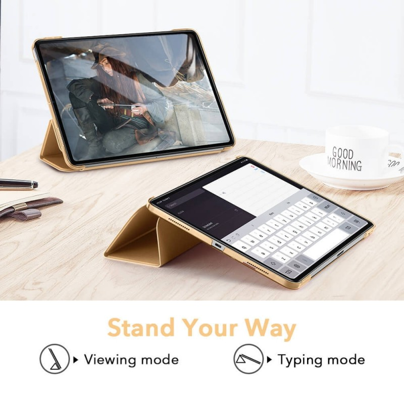 ESR Ascend Trifold Case iPad Air 4 (2020) Khaki - 4
