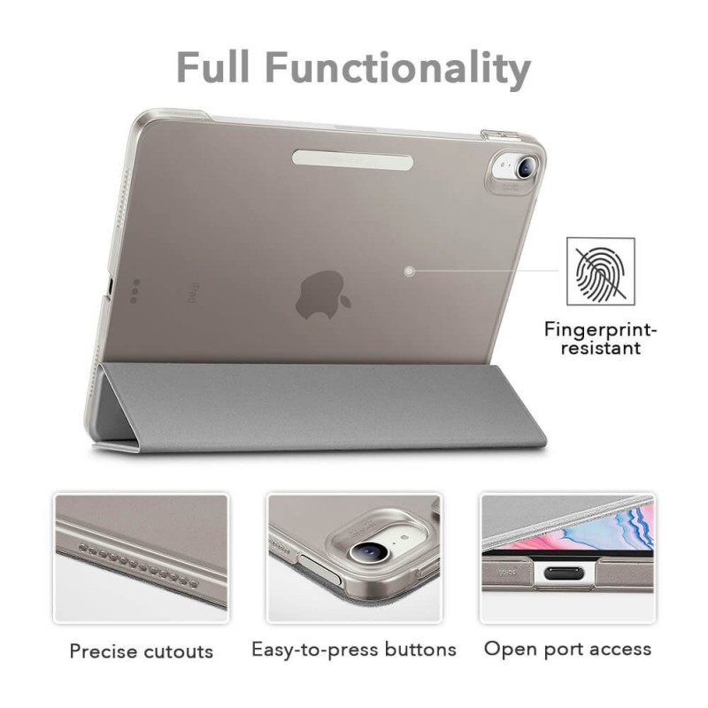 ESR Ascend Trifold Case iPad Air 4 (2020) Zilver - 2