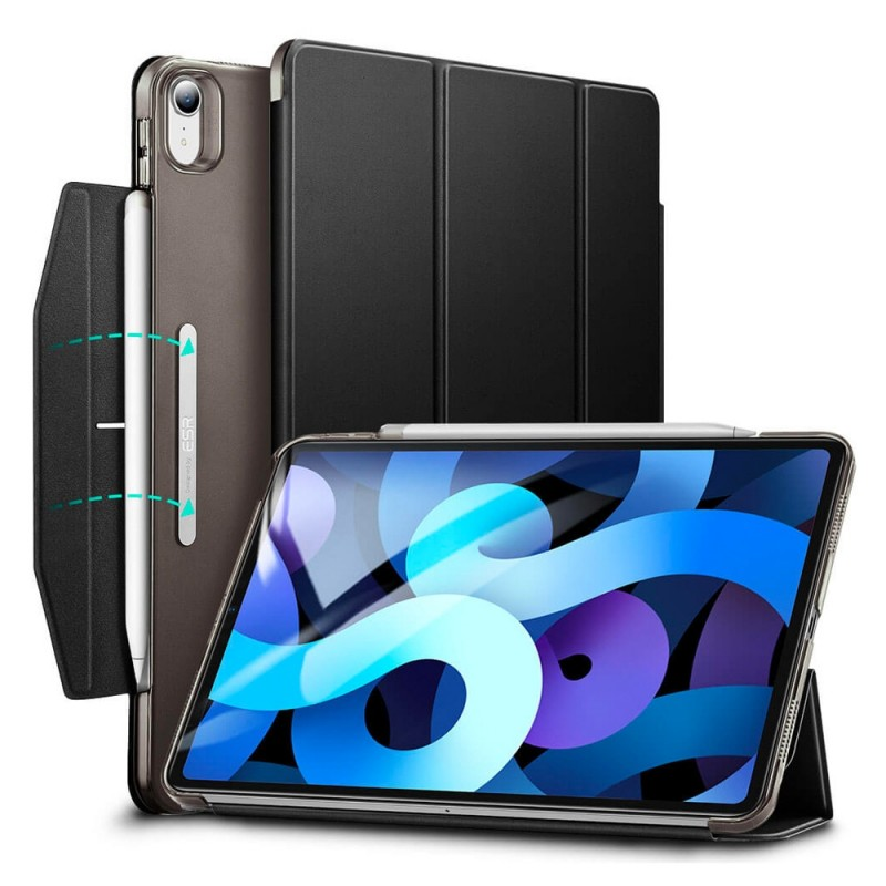ESR Ascend Trifold Case iPad Air 4 (2020) Zwart - 1