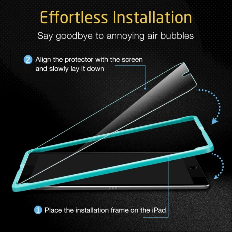 ESR Glazen Screenprotector iPad Air 10.5 (2019) - 7