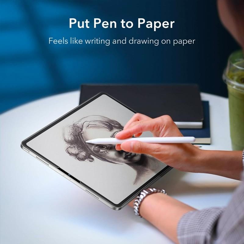 ESR Paper Feel Screenprotector iPad Pro 12.9 (2021/2020/2018) - 2