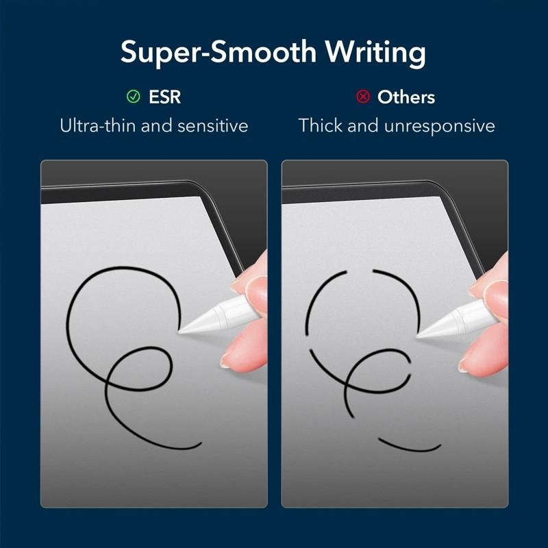 ESR Paper Feel Screenprotector iPad Pro 12.9 (2021/2020/2018) - 4