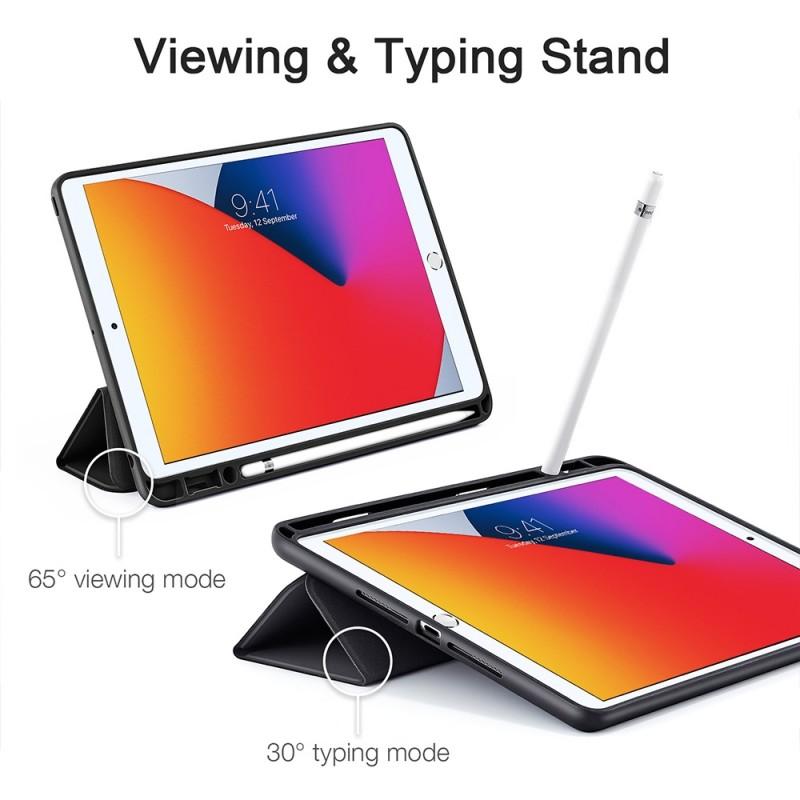 ESR Rebound Pencil Case iPad 10.2 (2020 / 2019) Zwart - 9