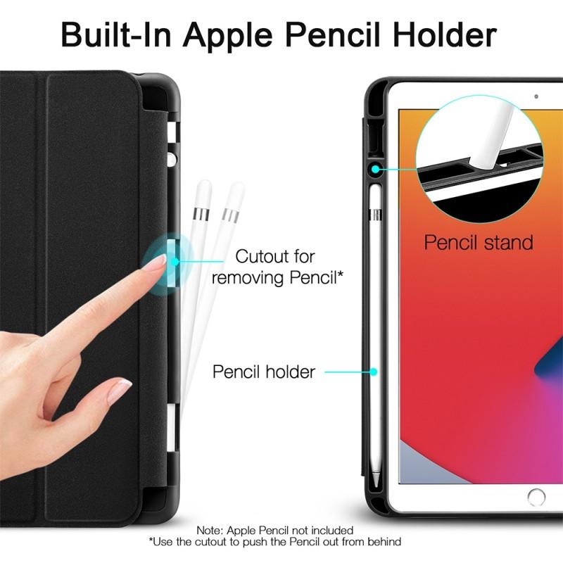ESR Rebound Pencil Case iPad 10.2 (2020 / 2019) Zwart - 10