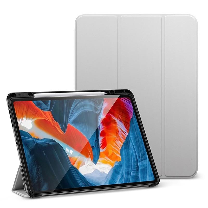 ESR - Rebound Pencil Case iPad Pro 12.9 inch (2021) Grijs - 1