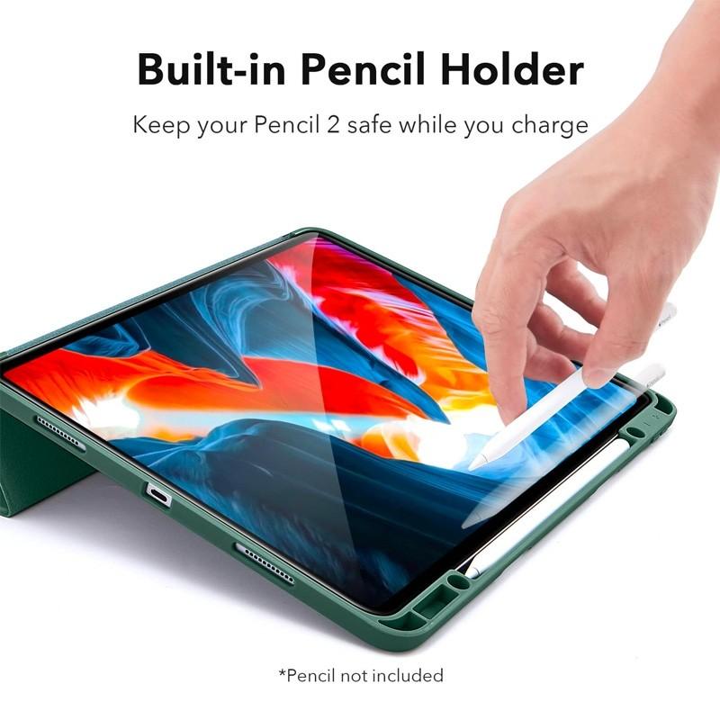 ESR - Rebound Pencil Case iPad Pro 12.9 inch (2021) Groen - 7