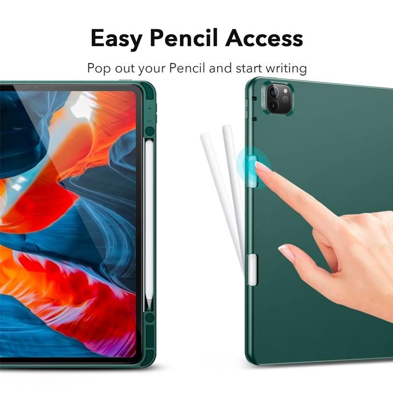 ESR - Rebound Pencil Case iPad Pro 12.9 inch (2021) Blauw - 6