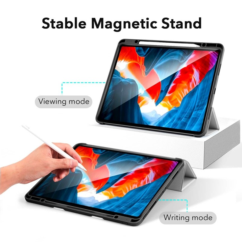 ESR - Rebound Pencil Case iPad Pro 12.9 inch (2021) Groen - 4
