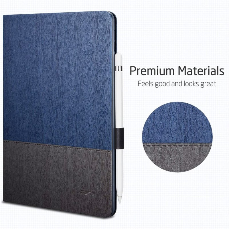 ESR Premium Folio iPad Air 10.5 (2019) Donkerblauw - 2