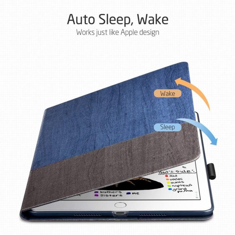 ESR Premium Folio iPad Air 10.5 (2019) Lichtblauw - 5