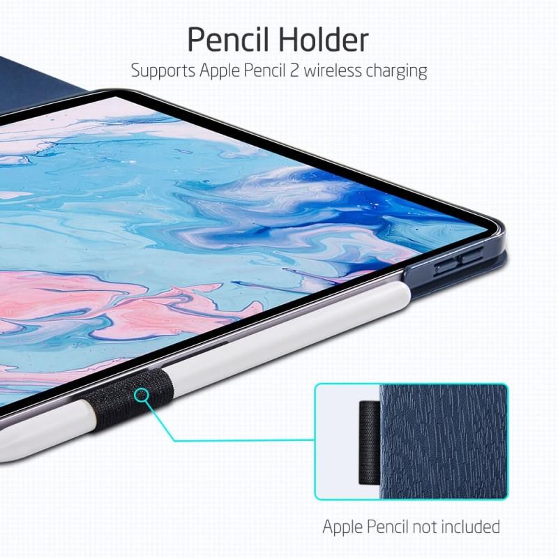 ESR Urban Premium Folio iPad Air 4 (2020) Donkerblauw - 7