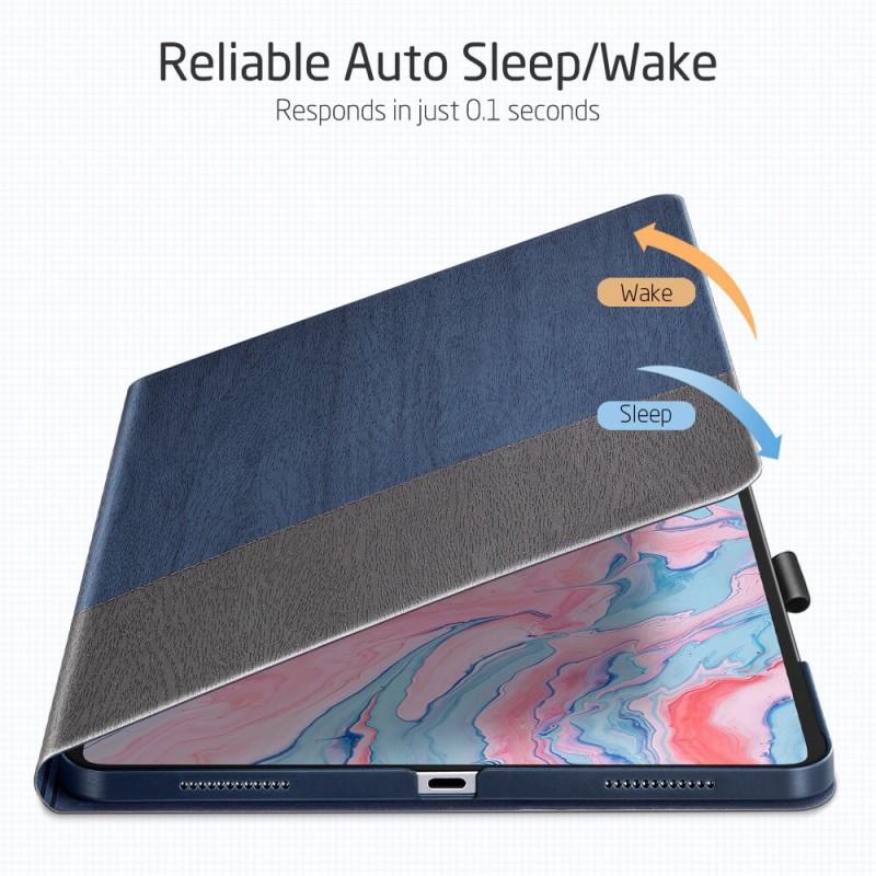 ESR Urban Premium Folio iPad Air 4 (2020) Donkerblauw - 6