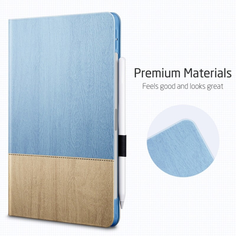 ESR Urban Premium Folio iPad Air 4 (2020) Lichtblauw - 7