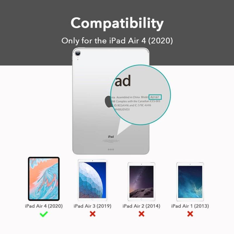ESR Urban Premium Folio iPad Air 4 (2020) Donkerblauw - 8