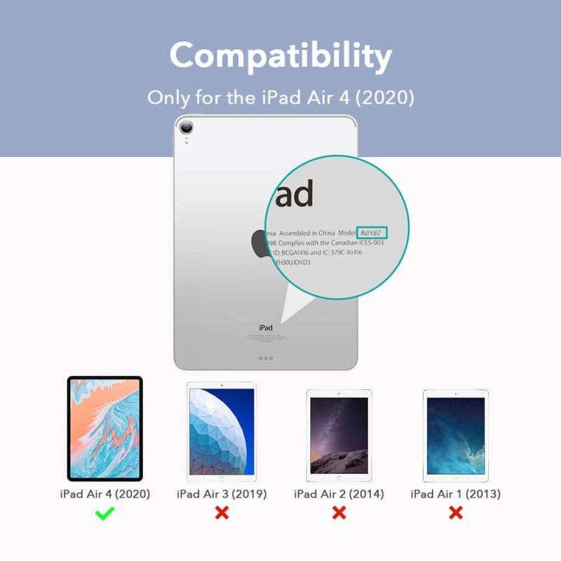 ESR Rebound Magnetic Case iPad Air 4 (2020) Groen - 9