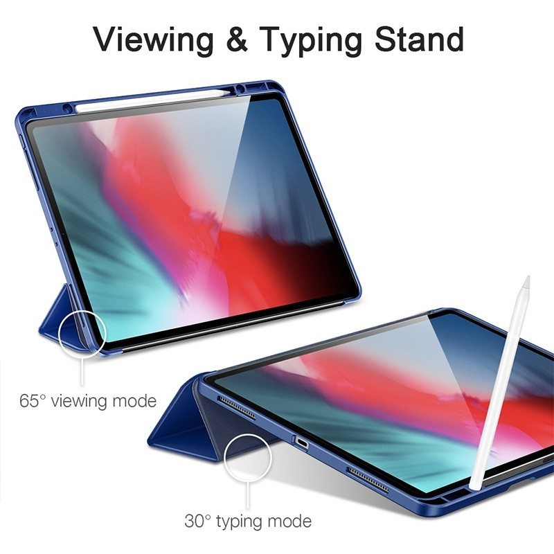 ESR Pencil Case iPad Pro 12.9 inch (2020) blauw - 6