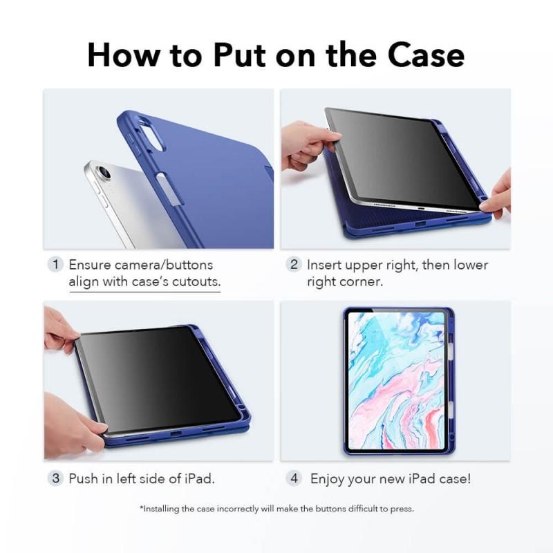 ESR Rebound Pencil Case iPad Air 4 (2020) Zwart - 7