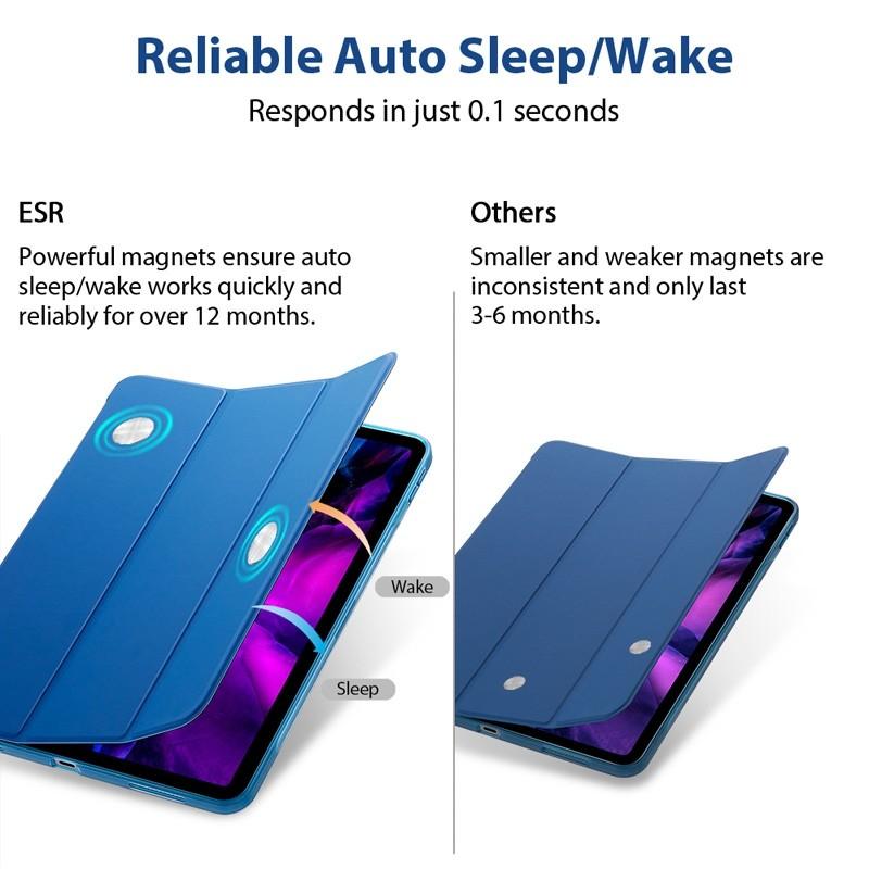 ESR Rebound Slim Case iPad Pro 11 inch (2020) Blauw - 5
