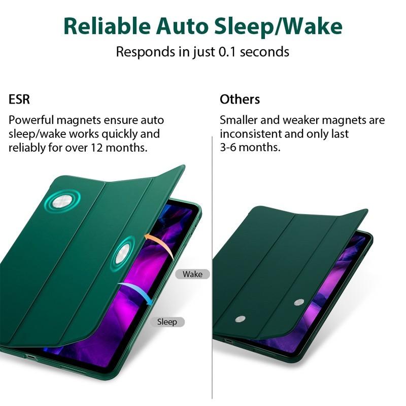 ESR Rebound Slim Case iPad Pro 11 inch (2020) Groen - 8