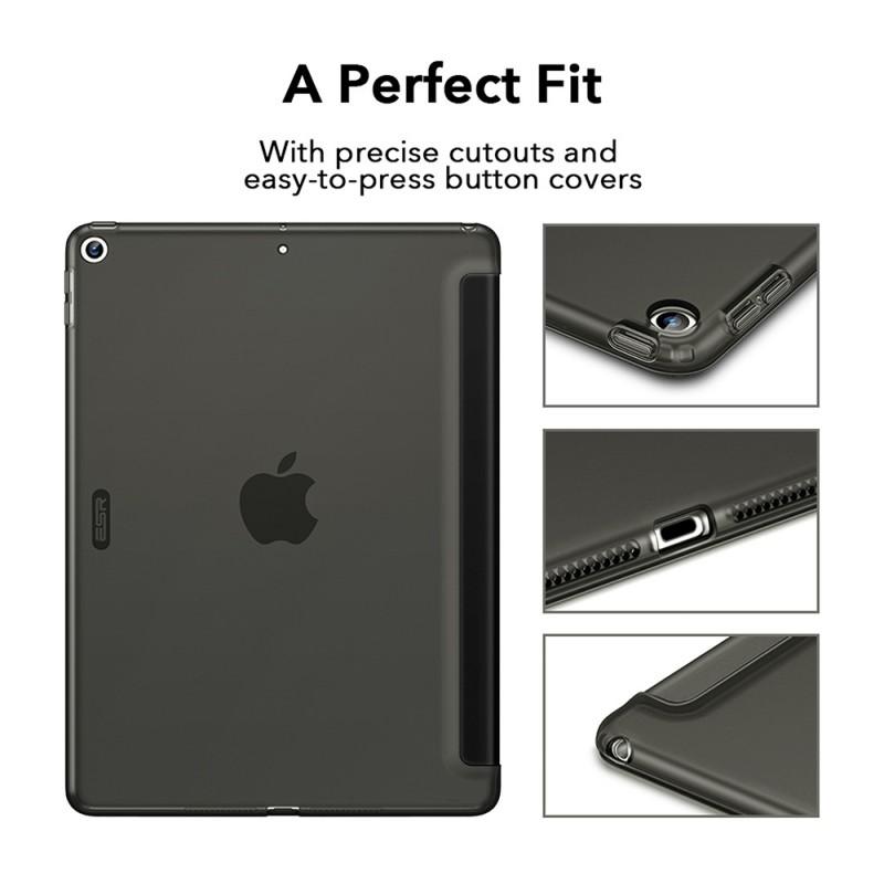 ESR Rebound Slim Case iPad 10.2 (2020 / 2019) Zilver - 10
