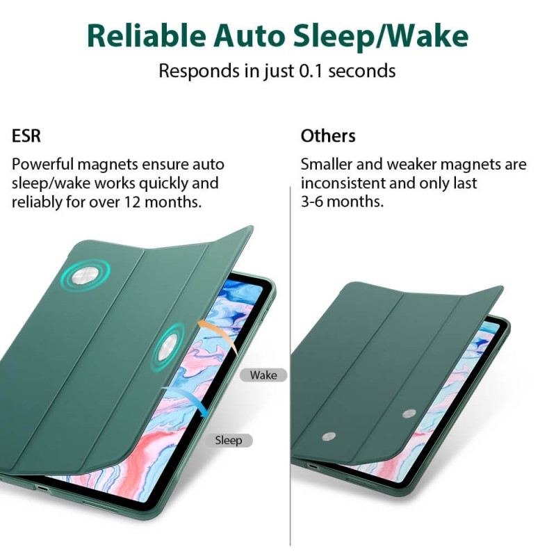 ESR Rebound Slim Case iPad Air 4 (2020) Zilver - 2