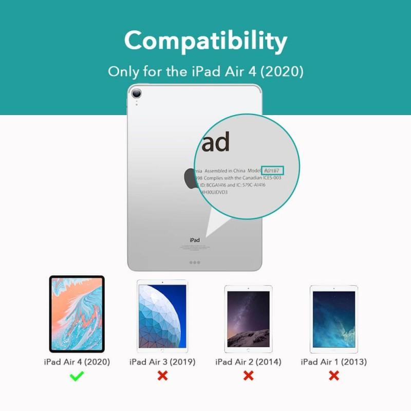 ESR Rebound Slim Case iPad Air 4 (2020) Blauw - 8