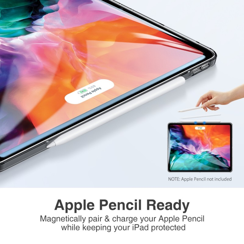 ESR Soft Shell iPad Pro 12.9 inch (2020) smoke - 7