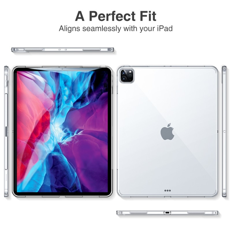 ESR Soft Shell iPad Pro 12.9 inch (2020) clear - 9