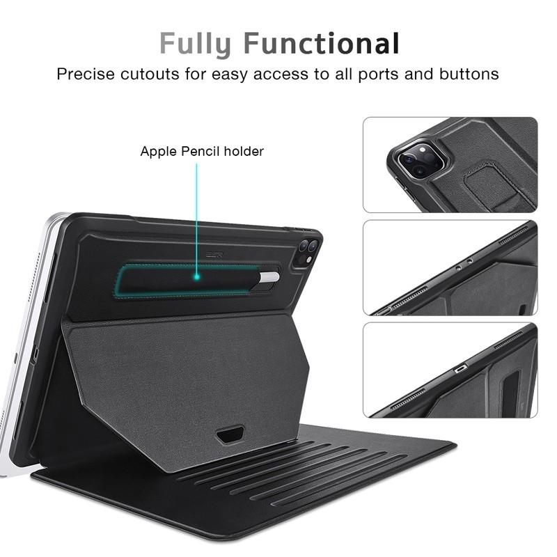 ESR - Sentry Stand iPad Pro 11 (2020) zwart 07