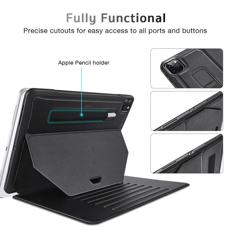 ESR Sentry Stand iPad Pro 12.9 inch (2020) Zwart 06