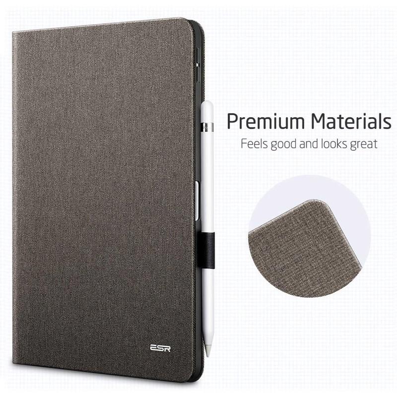ESR Slim iPad Pro 11 inch Folio Hoes Grijs Taupe 02