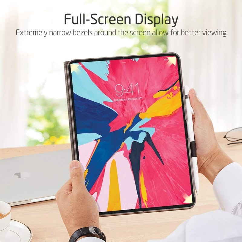 ESR Slim iPad Pro 11 inch Folio Hoes Grijs Taupe 06