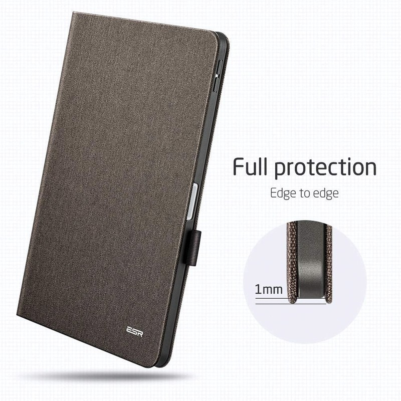 ESR Slim iPad Pro 11 inch Folio Hoes Grijs Taupe 05