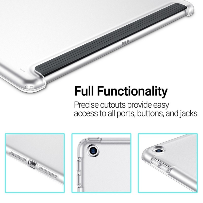 ESR TPU Clear Back Case iPad 10.2 - 6
