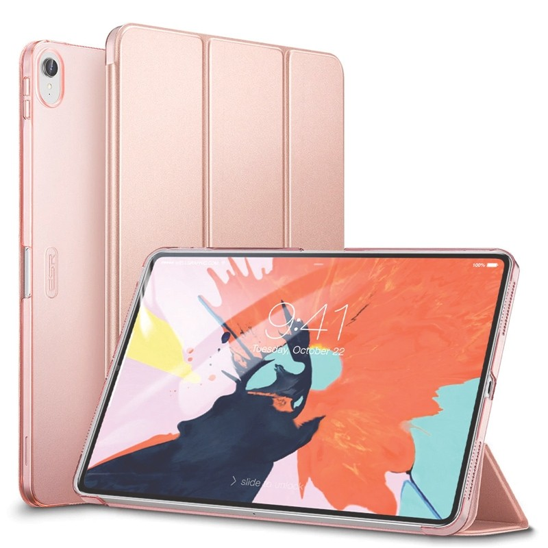 ESR Yippee Folio Case iPad Pro 11 inch Rose 01